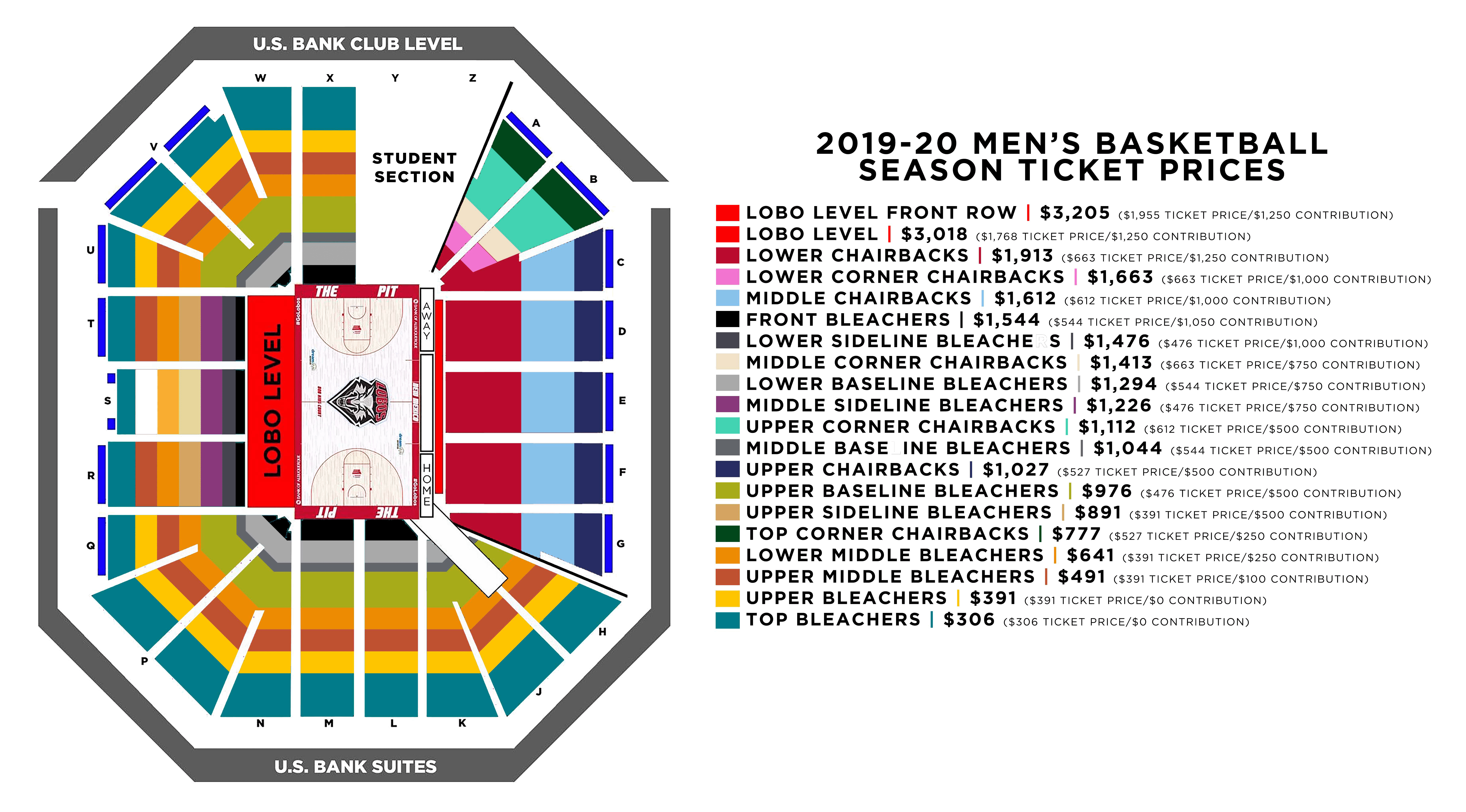 MBB Season Tickets 2019
