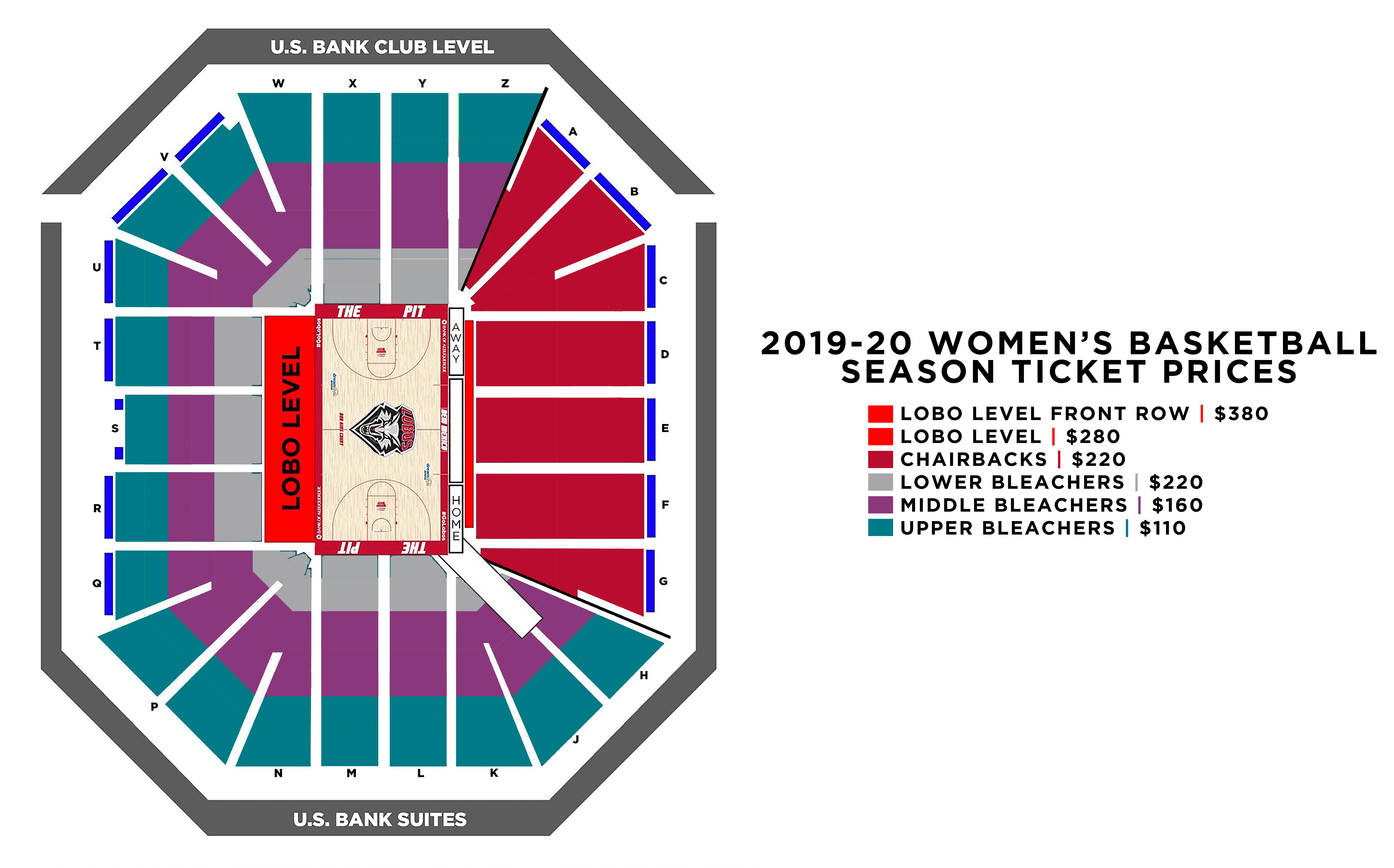 WBB Season Tickets 2019